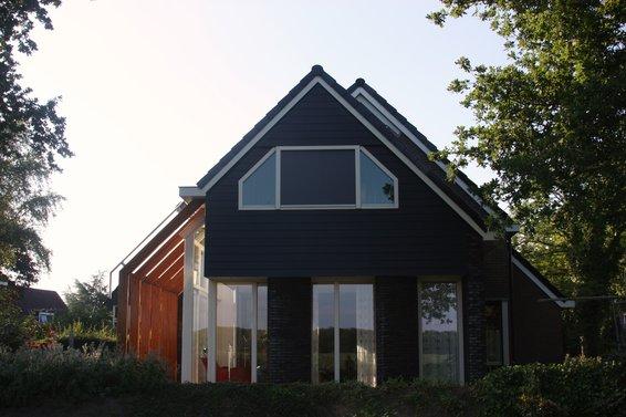 Aanbouw woning te Norg
