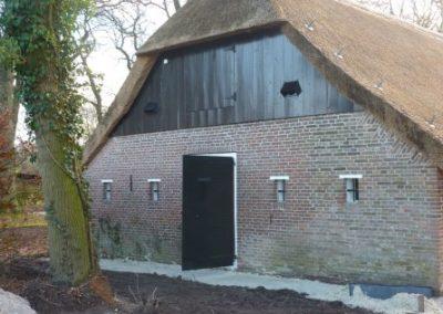 Restauratie Historische woning te Westervelde Bouwbedrijfboelens