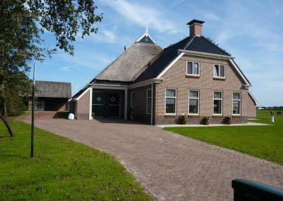 Verbouw woonboerderij Zuidvelde bouwbedrijf Boelens